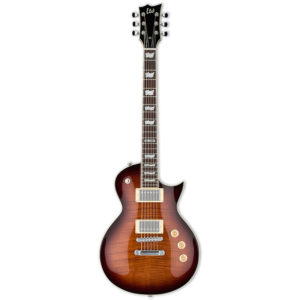 LTD EC-256FM Dark Brown Sunburst