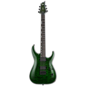 LTD H-1001 See Thru Green Electric Guitar