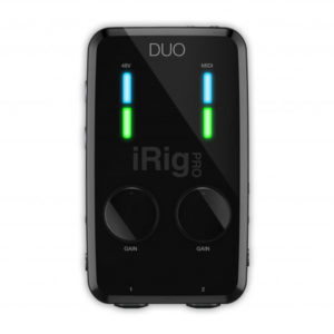IK MULTIMEDIA iRig Pro Duo 2-Channel Sound Interface