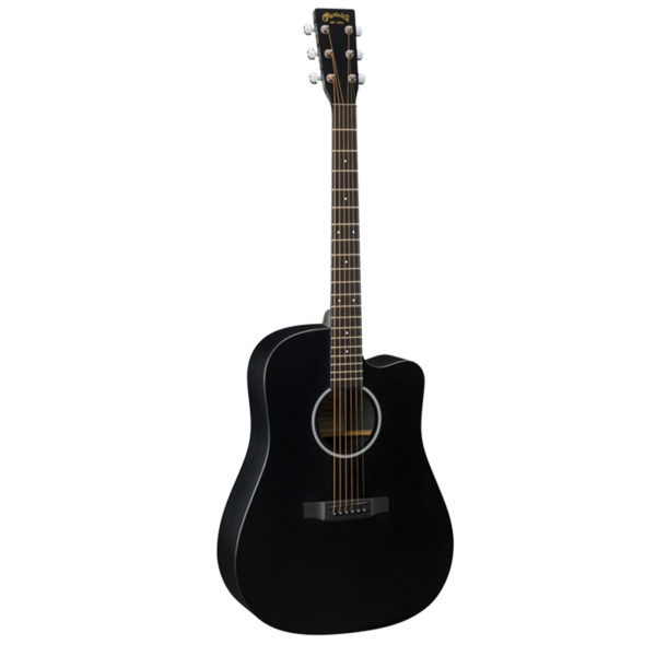 Martin DCXAE Black Cut-Away Electro/Acoustic Guitar