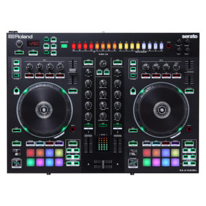 ROLAND DJ505 Dj Controller Serato Intro With Four Decks