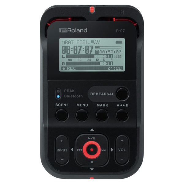 Roland R-07 BK High-Resolution Audio Recorder