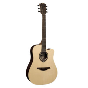 Lag Guitars T270DCE Dreadnought Cutaway Electro-Acoustic Guitar