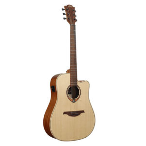 Lag Guitars T70DCE Dreadnought Cutaway Electro-Acoustic Guitar
