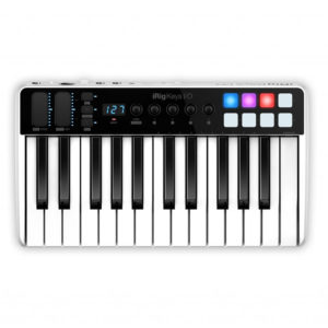 IK Multimedia iRig Keys I/0 25 USB Controller Keyboard with Integrated Audio Interface