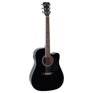 Soundsation Yellowstone DNCE-BK Electro Acoustic Guitar