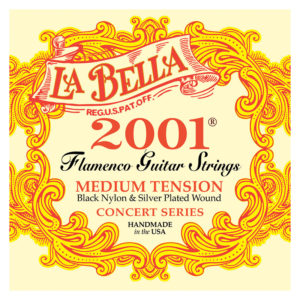 LA BELLA 2001 Flamenco - Medium Tension