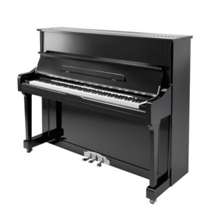 Chloris HU-121E Uprigh Piano Black FFW Hammers Glory