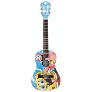 Spongebob Squarepants Guitar 1/2