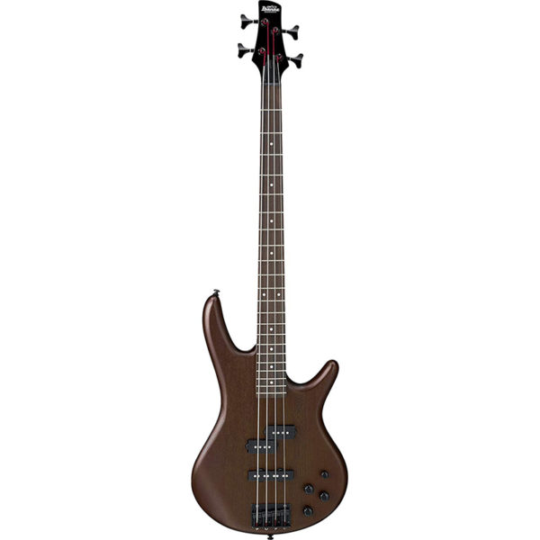 IBANEZ GSR200BWNF 4 String Bass Guitar, Right Handed, Walnut Flat