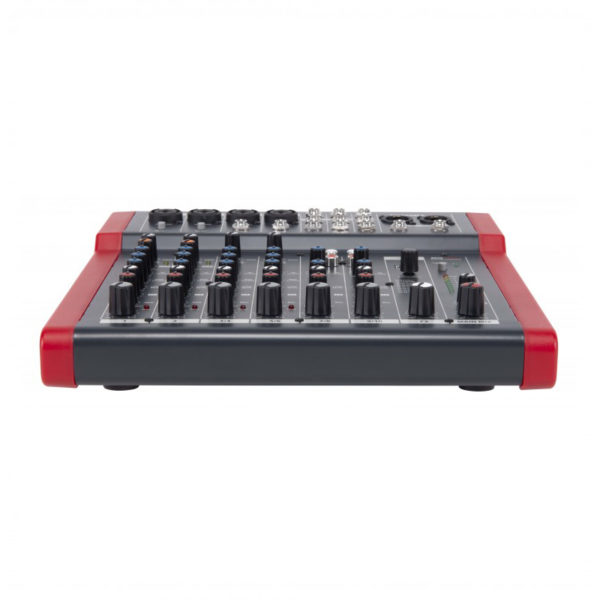 PROEL MQ10FX Compact 10-Channel Mixer With FX