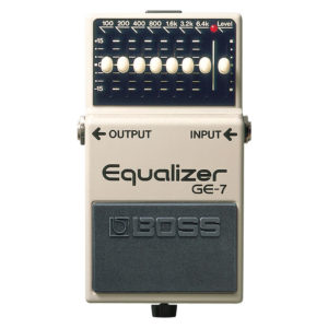 BOSS GE-7 Equalizer Pedal