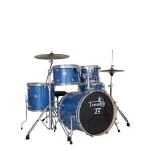 TAMBURO T5 Drum Set Blue Sparkle BD18
