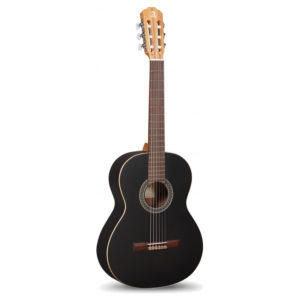 Alhambra 1C Black Satin Classic Guitar Inc. Soft Bag