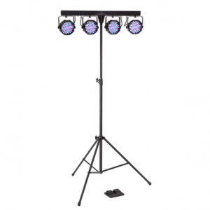 SOUNDSATION 4LEDKIT-PARTY RGB With Stand Bag