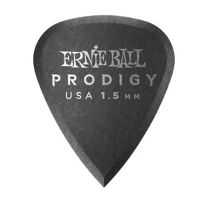 Ernie Ball 1.5mm Black Standard Prodigy Picks 6-Pack (P09199)