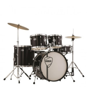 PEACE DP-105-20CH Drumkit VULCANIAN Black With Remo Heads