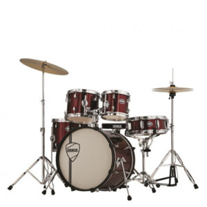 PEACE DP-105-20CH Drumkit VULCANIAN Wine Red With Remo Heads