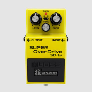 BOSS SD-1W Super Overdrive Waza Craft Series