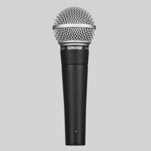 SHURE SM58 Cardioid Dynamic Microphone