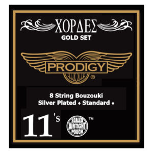 PRODIGY Gold Set 0.11's For 8 String Bouzouki