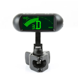 SWIFF C2 Tuner Clip For Instruments Two 360°Ball Joints Rotation